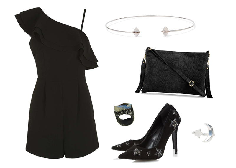 NYE New Years Eve all black outfit wishlist