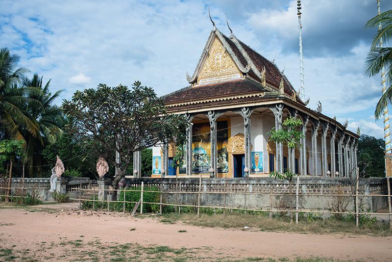 Siem Reap Cambodia Buddhist Temple.