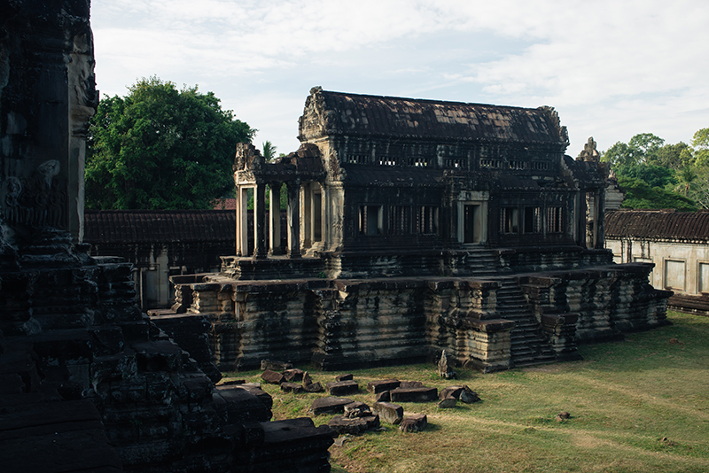 Angkor Wat temple complex Siem Reap Cambodia.