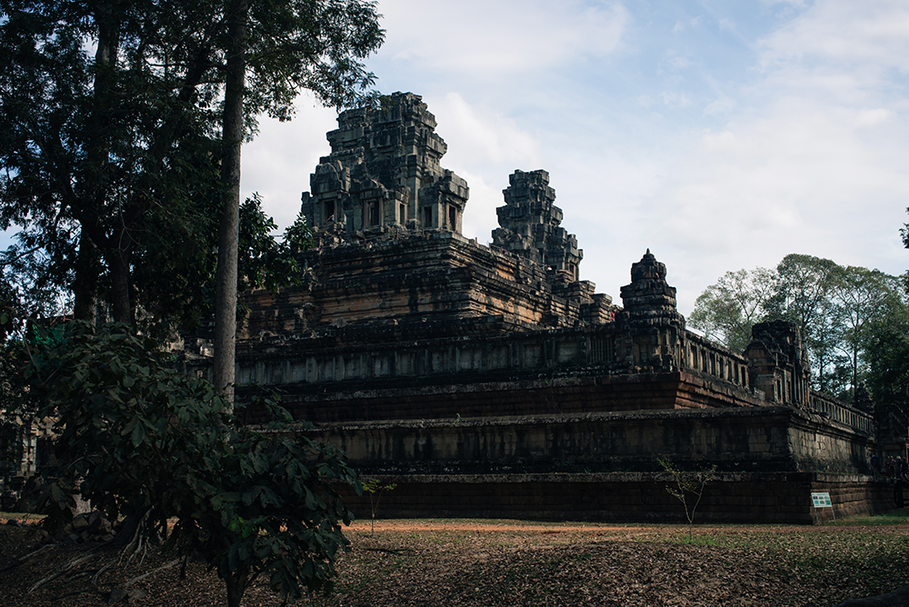 Baphuon temple ruins Siem Reap Angkor Cambodia.