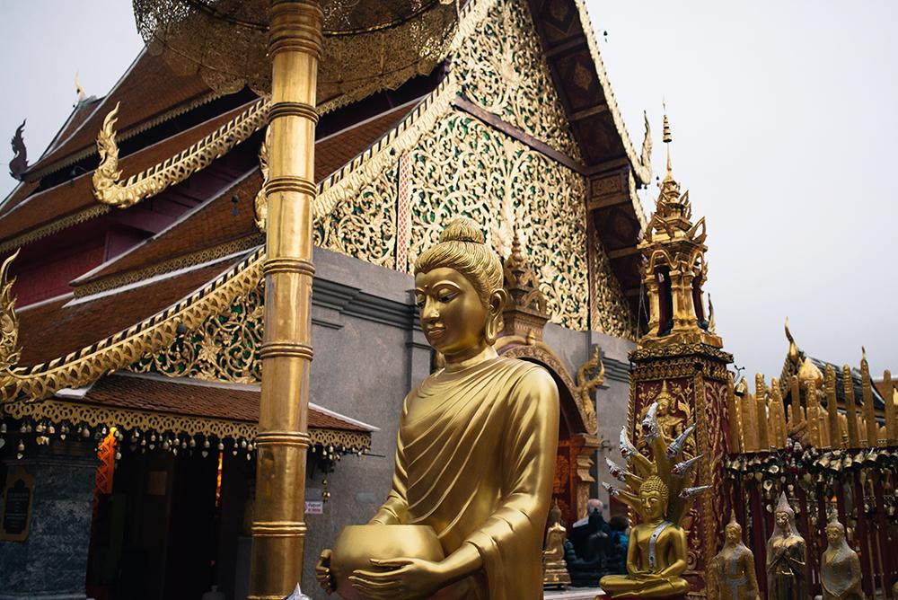 Wat Phra That Doi Suthep Chiang Mai Thailand.
