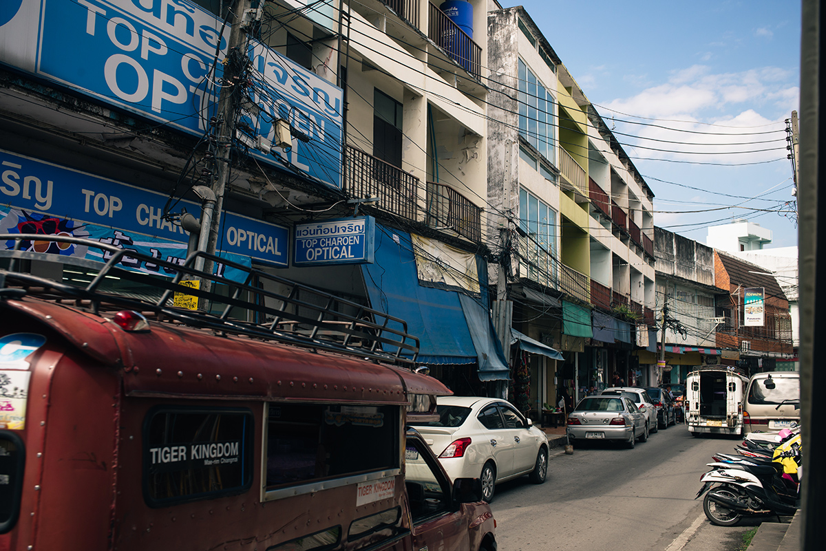Chiang Mai Thailand streets