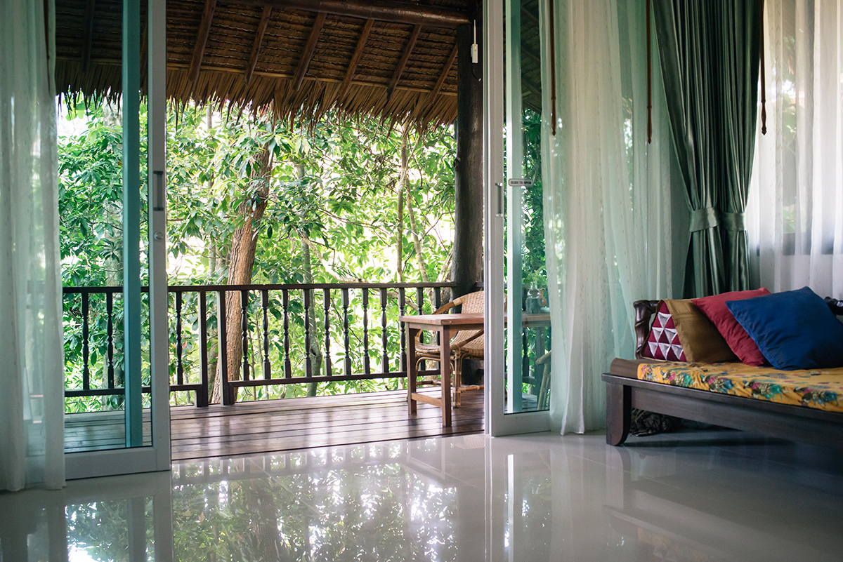 Ban Sainai Resort cottage room Ao Nang Krabi Thailand