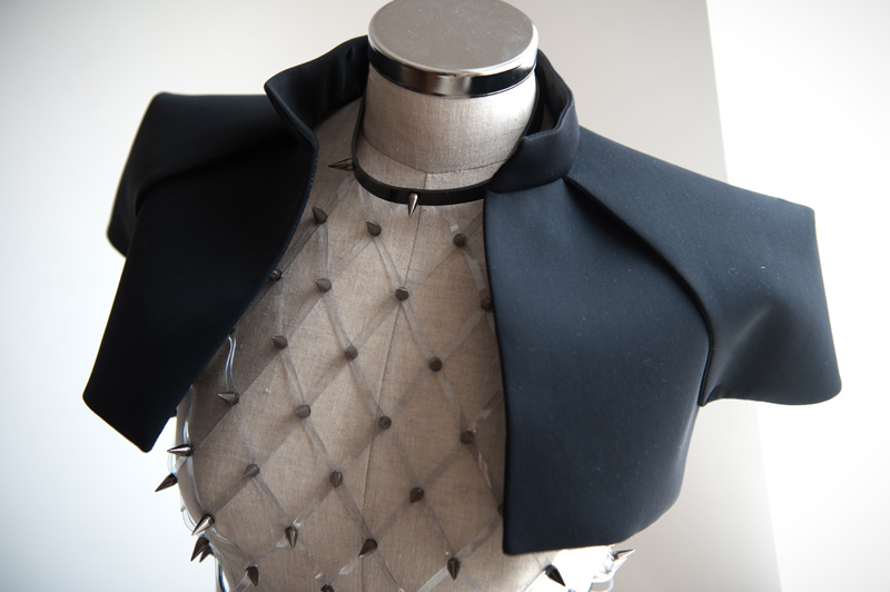 Trace Publicity Autumn Winter 2013 AW13 Press Day, Fannie Schiavoni studded harness