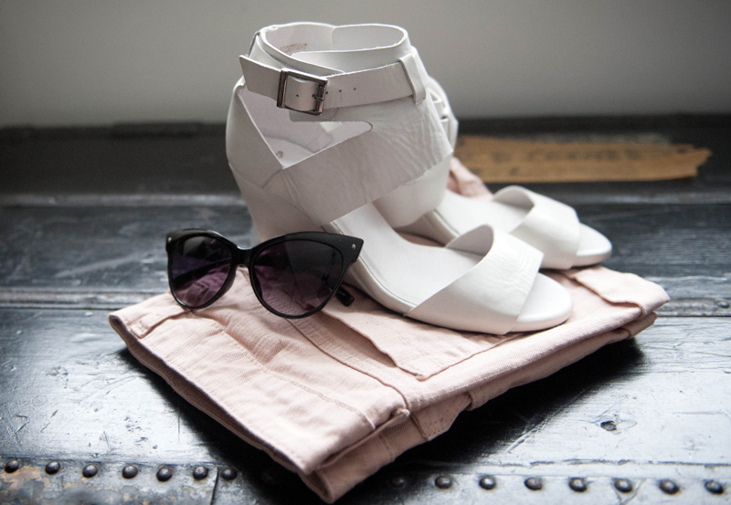 Topshop, White, Wedges, Nude, Mango, Shorts, Black, Cat Eye, Sunglasses, AJ Morgan, New, Buys, Shopping, Summer, Hotpants, Shoes,