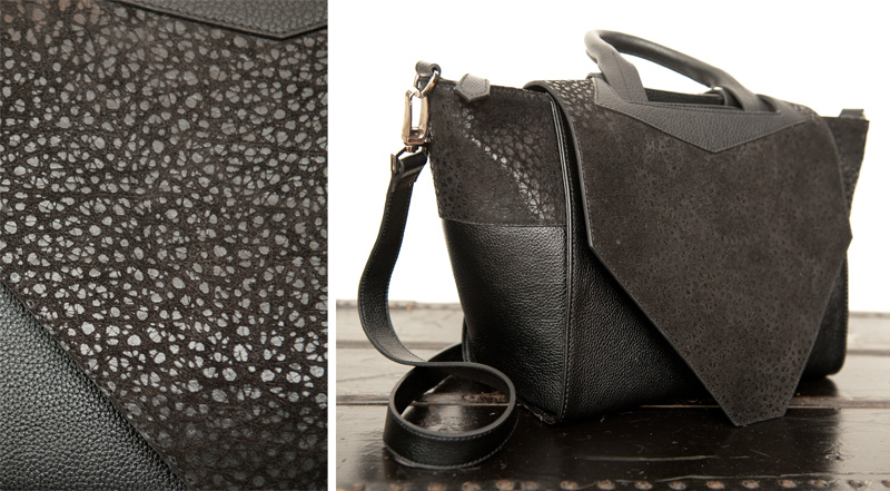 Bracher Emden Classic Collection Structured Tote. FAIIINT, Black on Black, Texture, Leather, Bag, Handbag, Designer.
