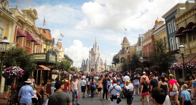 Magic Kingdom, Castle, Cinderella, Disney, Disneyland, Walt, Disney World, Florida, Main Street USA,