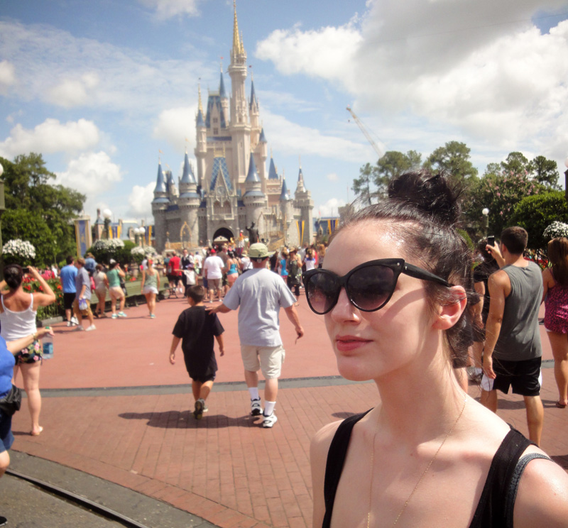 Magic Kingdom, Disney, Florida, FAIIINT, USA, America, Disneyland, Disney Land, Cinderella, Castle, Portrait, Sunny, Walt Disney,