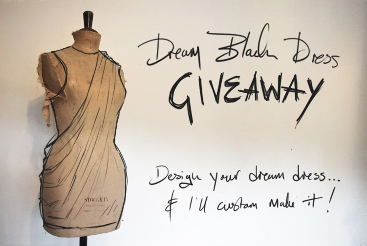 FAIIINT, Dream Black Dress, Giveaway, Fashion, Blogger, Competition,