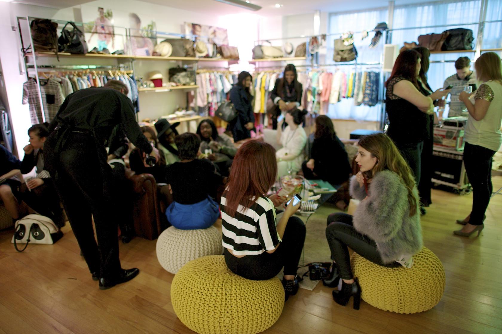 Next Press Office Take Over #NextPOTO SS13 Fashion Blogger Event Party