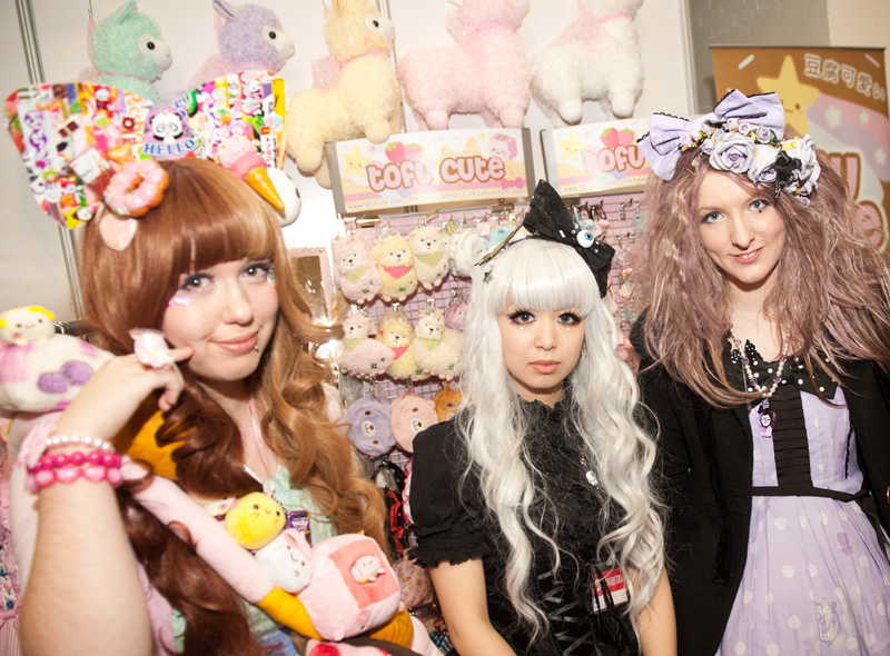 Hyper Japan, 2012, Christmas, Earls Court, Convention, Olympia, EC and O, Trade Show, Exhibition, Japanese, Japan, Event, Street Fashion, Fruits, Lolita, Cute, Kawaii, Cosplay, Pastel, Shop, Gothic, Teddys, Plush, Toys, Fashion, Clothing, Accessories, Charms, Trinkets, Pretty, Wigs, Girls, Ribbon, Tofu Cute, Alpacca,