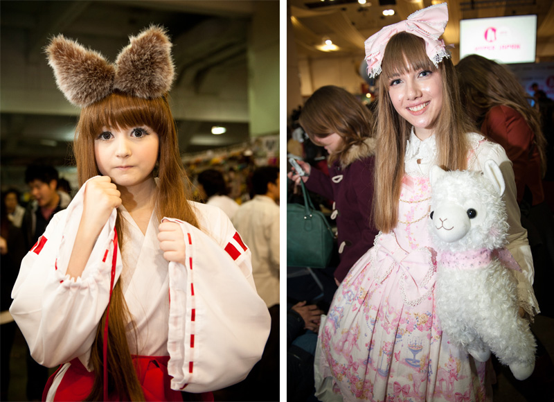 Hyper Japan, 2012, Christmas, Earls Court, Convention, Olympia, EC and O, Trade Show, Exhibition, Japanese, Japan, Event, Street Fashion, Fruits, Lolita, Cute, Kawaii, Cosplay, Venus Angelic, Venus Palermo, Pastel, Shop, Fashion, Clothing, Accessories, Ears, Hakama, Alpacca,