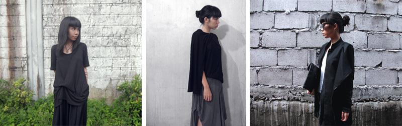Define Delirium, Black Outfits, Draping