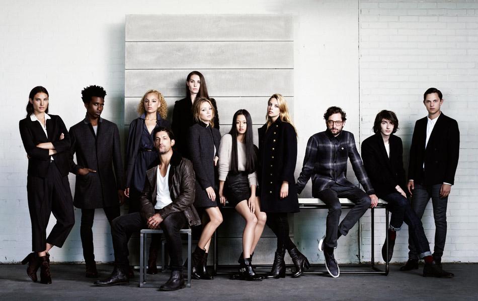 All Saints, Advert, Lookbook, Autumn, Winter, 2012, Collection