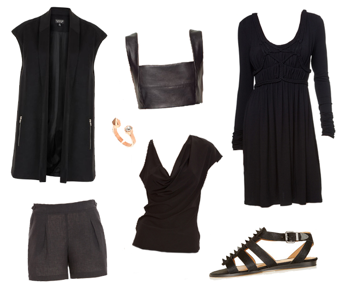 Wishlist, Fashion, Blogger, Max Studio, Leon Max, Topshop, Zara, Black