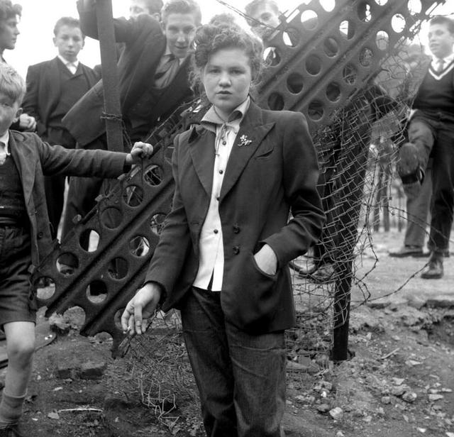 Teddy Boy, Teddy Girl, Teds, Girl in Suit, 50's, Ken Russell