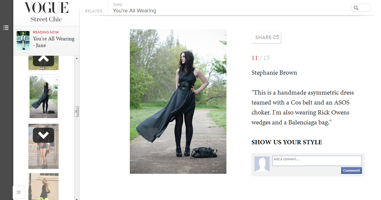 FAIIINT, Vogue, Vogue.com, Feature, Featured, Street Style, You're All Wearing, Fashion