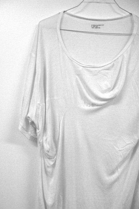White, Tee, T-Shirt, Perfect, Draped, Slouchy